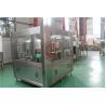 Volumetric Bottle Vial Filling Aluminum Canning Equipment With Bottle Washing for sale