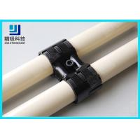 Wholesale Adjustable Swivel Metal Joint For Rotating In Pipe Rack System Black Fitting HJ-8 from china suppliers