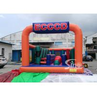 Wholesale Giant Fun Adults Jumping Inflatable Obstacle Course For Challenge Run Party from china suppliers