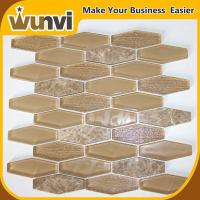 Buy cheap Coffee Glass and Stone Mosaic Tile art acid-proof and alkali-proof from wholesalers