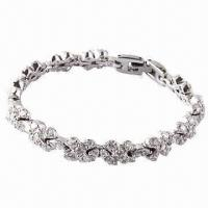 China 2012 Wholesale Elegant Crystal Diamond/Tennis Bracelets on sale