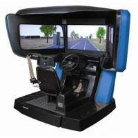 Wholesale Driver training simulator , city driving simulation with 3 screens from china suppliers
