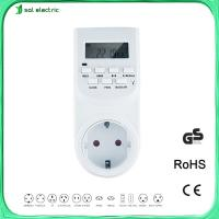 Wholesale 7days programmable timer switch ,timer socket from china suppliers