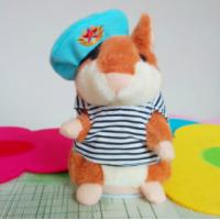 China 2014 Novelty Cute Toy Talking Hamster Plush Toy Hamster Talking Hamster Toy on sale