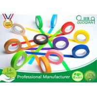 Quality High flexibility Rainbow Coloured Masking Tape For Painting , Easy To Remove for sale
