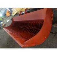 Wholesale Heavy Duty Excavator Sieve Bucket Capacity 3.7 Cum For Dredging Sea from china suppliers