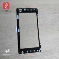 China custom chemically strengthened glass cover lens 1mm thickness for touch panel LCD display monitor for sale