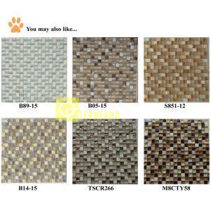 China Floor/Wall Tile Mosaic,Crystal Glass Mosaic (B14-15) on sale