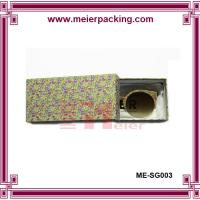 Wholesale Drawer glasses box, paper slider gift box, rigid art paper glasses box ME-SG003 from china suppliers
