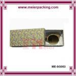Wholesale Drawer glasses box, paper slider gift box, rigid art paper glasses box ME-SG003 from china suppliers