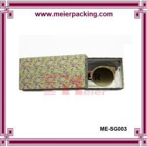 Quality Drawer glasses box, paper slider gift box, rigid art paper glasses box ME-SG003 for sale