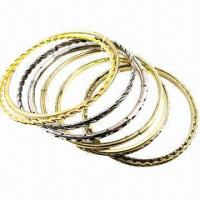 Wholesale Bangle Set, Made of Zinc-alloy from china suppliers