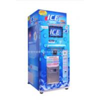 Quality Restaurant Commercial Ice Vending Machine Charged By Coin / Note CE Approval for sale