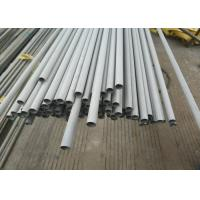 Brushed 316l Stainless Steel Tubing Seamless  For Auto Parts / Decoration