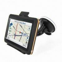 Wholesale GPS Navigator with Bluetooth with 4.3-inch Touchscreen Sized and FM Transmitter from china suppliers