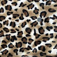 Wholesale Professional  Tiger 	Printed Fleece Fabric  220GSM~500GSM Warp Knitting from china suppliers