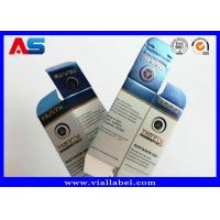 China 40*40*70mm Pharmaceutical Packaging Box / Small Pill Box For Anavar for sale