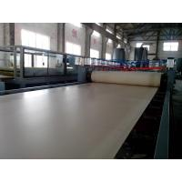 Wholesale PVC / PP / PE Wood Powder Making Machine , Plastic Sheet Extrusion Machine from china suppliers