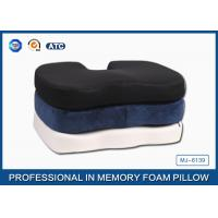 Wholesale Classic Supportive Polyurethane Memory Foam Seat Cushion , U Shaped Chair Cushions from china suppliers