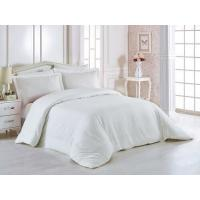 Buy cheap 100% Cotton 60 * 40S 300TC Hotel Bedding Set White Color King Size Plain Style from wholesalers