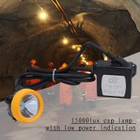 Wholesale Explosionproof Portable Led Miners Light 1 Watt 6.6ah Rechargeable from china suppliers