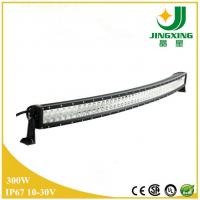 China Car accessory curved led light bar 300W led utv light bar on sale