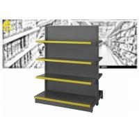 Wholesale Customized Size Supermarket Steel Racks Double Side And Wall Side Installation from china suppliers