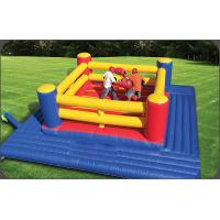 Wholesale Exciting Inflatable Boxing Ring / Inflatable Fighting Court For Sport Games from china suppliers
