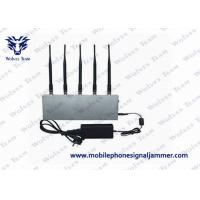 Wholesale UHF Audio Mobile Phone Signal Jammer 8W ± 500mA Total Transmit Power CE Certificated from china suppliers