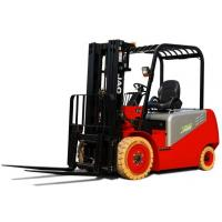 China 3 Ton Electric Battery Powered Forklift / Triple Mast Forklift One Year Warranty for sale