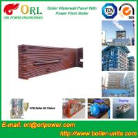 35 Ton Petroleum Steam Boiler Water Wall Tubes ORL Power SGS With Hot Water