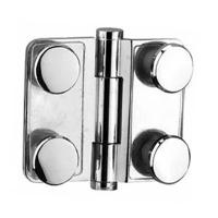 Wholesale Quality shower hinge glass to glass free hinge glass clamp for glass door ( BA-SW004) from china suppliers