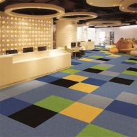 China Plain Level Loop 6.6 Nylon Carpet For Meeting Room Oriental Design for sale