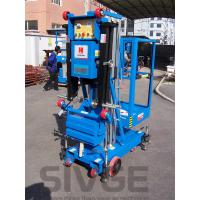 Quality 6 Meter Platform Height Trailer Mounted Lift Vertical Mast Lift For One Person for sale