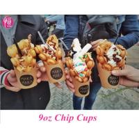 Wholesale Disposable French Fries Custom Printed Paper Cups for Chips and Ice Cream from china suppliers