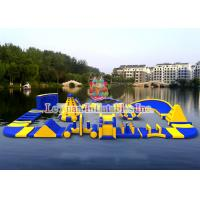 Multi Color Inflatable Aqua Park Equipment For Adults Easy Assemble