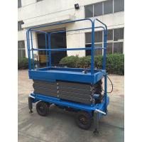 China 6 Meters Hydraulic Mobile Scissor Lift with 450Kg Loading Capacity for sale