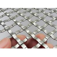China Decorative Architectural Wire Mesh Plated For Interior Railings And Stairways on sale