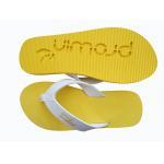 China full color printing eva die cut and embossed  Women Flip flops  thongs slipers manufacturers for sale