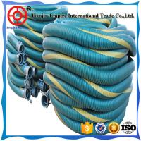 Wholesale 7  inch Red double spiral steel wire reinforced  PVC chemical composite hose from china suppliers
