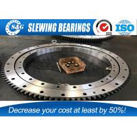Buy cheap Chrome Steel GCr15 KOBELCO Excavator Slewing Bearing , SWING CIRCLE / Internal Gear from wholesalers
