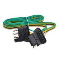 Quality 4 Plug Trailer Wire Kit 12 volt , 18 inch / 24 inch / 60 inch for sale