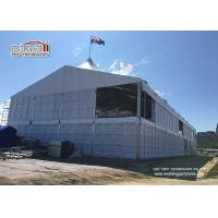 High Quality Strong White PVC Luxury Wedding Tents with Glass Wall for sale