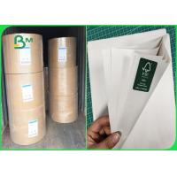 China 48gr Uncoated Paper Rolls Smooth Surface For Printing Newspaper And Fill Bags for sale