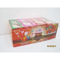 Wholesale Happy Birthday Candle Marshmallow Candy / 11g /4 Pcs In One Bag Twist Cotton Candy from china suppliers