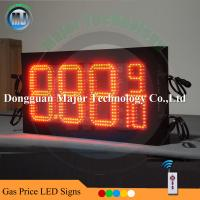 Wholesale Double Side Remote Control Outdoor Led Gas Station Price Sign Led Digital Number Sign from china suppliers