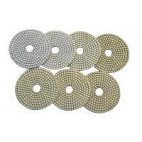Wholesale Flexible Wet Diamond Polishing Pads , 7 - Step Diamond Pads For Marble from china suppliers