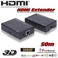 Wholesale Single cat5e HDMI Extender  PET50E from china suppliers
