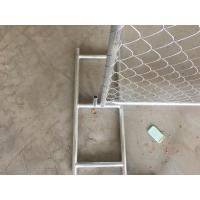 Wholesale USA Standard construction temporary chain link fence(direct factory) from china suppliers