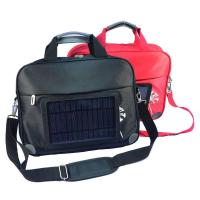 Wholesale Waterproof  Nylon Laptop Solar Charging Backpack With USB Battery Backup from china suppliers